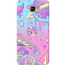 Чехол на Samsung Galaxy A9 A9000 'Розовый космос