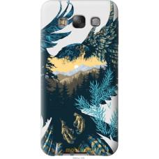 Чехол на Samsung Galaxy E7 E700H Арт-орел на фоне природы