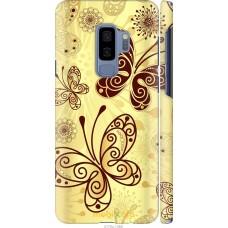Чехол на Samsung Galaxy S9 Plus Рисованные бабочки