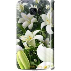 Чехол на Samsung Galaxy S7 Edge G935F Лилии белые
