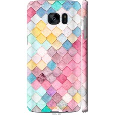 Чехол на Samsung Galaxy S7 Edge G935F Красочная черепица