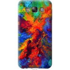 Чехол на Samsung Galaxy E7 E700H Акварель на холсте