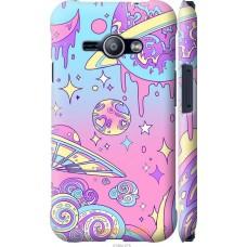 Чехол на Samsung Galaxy J1 Ace J110H 'Розовый космос