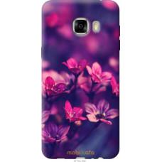 Чехол на Samsung Galaxy C7 C7000 Весенние цветочки