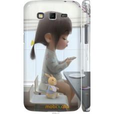Чехол на Samsung Galaxy Grand 2 G7102 Милая девочка с зайчик