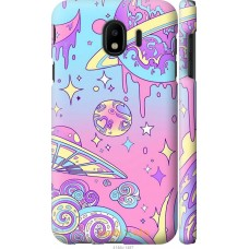 Чехол на Samsung Galaxy J4 2018 'Розовый космос