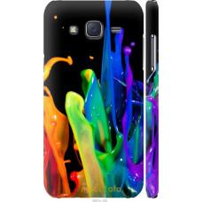 Чехол на Samsung Galaxy J5 (2015) J500H брызги краски