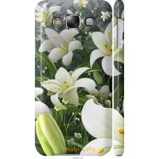 Чехол на Samsung Galaxy E5 E500H Лилии белые