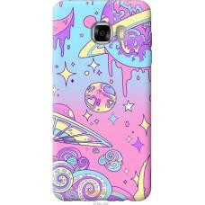 Чехол на Samsung Galaxy C7 C7000 'Розовый космос