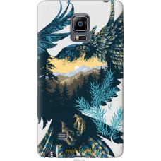 Чехол на Samsung Note Edge SM-N915 Арт-орел на фоне природы