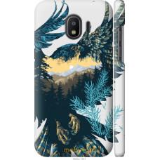 Чехол на Samsung Galaxy J2 2018 Арт-орел на фоне природы