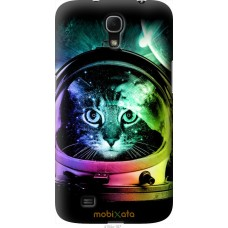 Чехол на Samsung Galaxy Mega 6.3 i9200 Кот космонавт