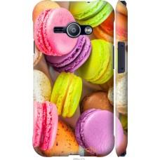 Чехол на Samsung Galaxy J1 Ace J110H Вкусные макаруны