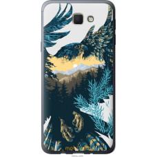 Чехол на Samsung Galaxy J5 Prime Арт-орел на фоне природы