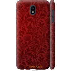 Чехол на Samsung Galaxy J5 J530 (2017) Чехол цвета бордо
