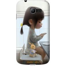 Чехол на Samsung Galaxy Star Plus S7262 Милая девочка с зайч
