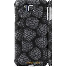 Чехол на Samsung Galaxy Alpha G850F Черная ежевика