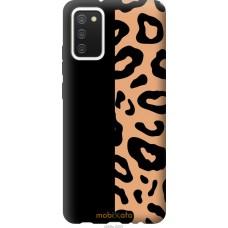 Чехол на Samsung Galaxy A02s A025F Пятна леопарда