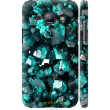 Чехол на Samsung Galaxy J1 J100H Кристаллы 2