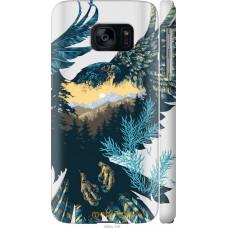 Чехол на Samsung Galaxy S7 G930F Арт-орел на фоне природы