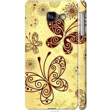 Чехол на Samsung Galaxy A3 (2016) A310F Рисованные бабочки