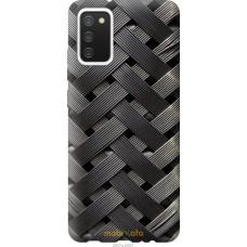 Чехол на Samsung Galaxy A02s A025F Металлические фоны
