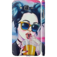 Чехол на Samsung Galaxy J7 J700H Стильная девушка