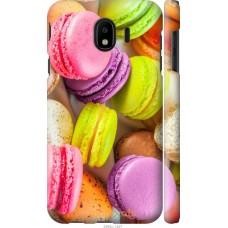 Чехол на Samsung Galaxy J4 2018 Вкусные макаруны