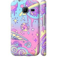 Чехол на Samsung Galaxy J1 Mini J105H 'Розовый космос