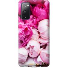 Чехол на Samsung Galaxy S20 FE G780F Розовые пионы