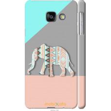 Чехол на Samsung Galaxy A3 (2016) A310F Узорчатый слон
