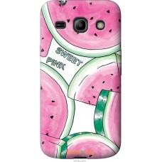 Чехол на Samsung Galaxy Core Plus G3500 Розовый арбузик