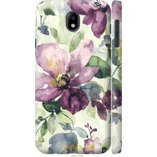 Чехол на Samsung Galaxy J7 J730 (2017) Акварель цветы