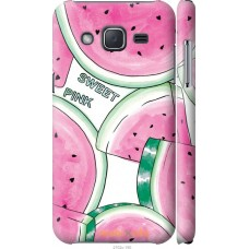 Чехол на Samsung Galaxy J2 J200H Розовый арбузик