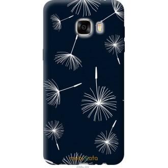 Чехол на Samsung Galaxy C7 C7000 одуванчики