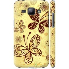Чехол на Samsung Galaxy J1 J100H Рисованные бабочки