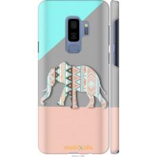 Чехол на Samsung Galaxy S9 Plus Узорчатый слон