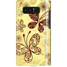 Чехол на Samsung Galaxy Note 8 Рисованные бабочки