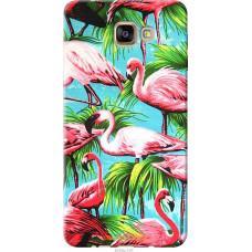 Чехол на Samsung Galaxy A9 Pro Tropical background
