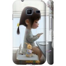 Чехол на Samsung Galaxy J1 Mini J105H Милая девочка с зайчик