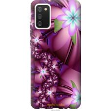 Чехол на Samsung Galaxy A02s A025F Цветочная мозаика