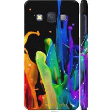 Чехол на Samsung Galaxy A3 A300H брызги краски