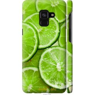Чехол на Samsung Galaxy A8 2018 A530F Лайм