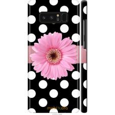 Чехол на Samsung Galaxy Note 8 Цветочек горошек v2