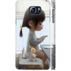 Чехол на Samsung Galaxy Note 5 N920C Милая девочка с зайчико
