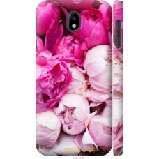 Чехол на Samsung Galaxy J7 J730 (2017) Розовые цветы