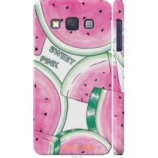 Чехол на Samsung Galaxy A3 A300H Розовый арбузик