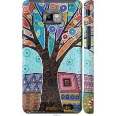 Чехол на Samsung Galaxy S2 i9100 Арт-дерево