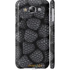 Чехол на Samsung Galaxy E5 E500H Черная ежевика