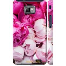 Чехол на Samsung Galaxy S2 Plus i9105 Розовые цветы